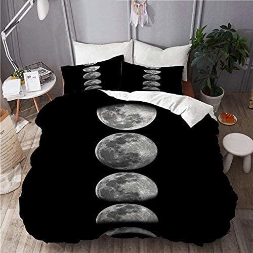 QWAS Doctor Who - Juego de ropa de cama infantil, funda de edredón para adolescentes, 3 piezas (L4,135 x 200 cm + 50 x 75 cm x 2)