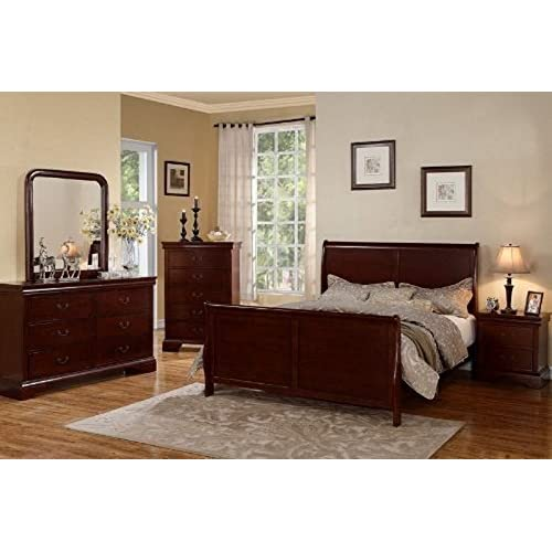 Cherry Wood Bedroom Set: Amazon.com