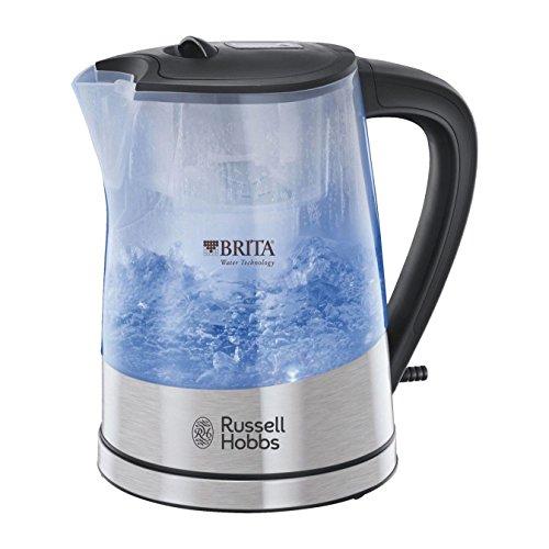 Russell Hobbs 22850 Purity Hervidor de agua 3000 W, 1 L, negro