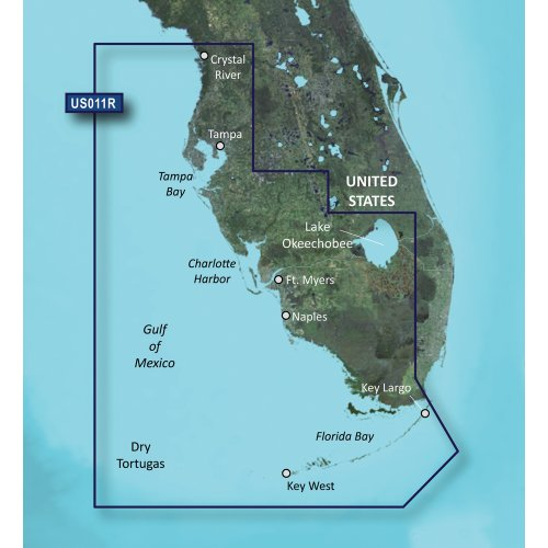 Fantastic Prices! GARMIN VUS011R SOUTHWEST FLORIDA BLUECHART G2 VISION GARMIN VUS011R SOUTHWEST FLOR...