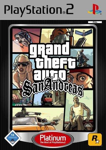 Rockstar Games Grand Theft Auto: San Andreas Platinum, PS2