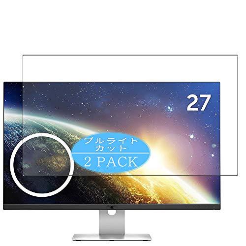 "VacFun 2 Piezas Filtro Luz Azul Protector de Pantalla, compatible con Dell Monitor S2715H 27"", Screen Protector Película Protectora(Not Cristal Templado) NEW Version"