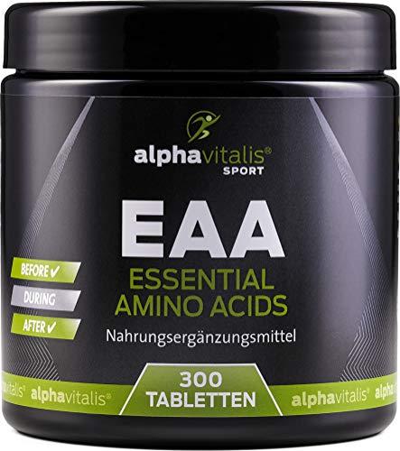 EAA vegan - alle 8 essentiellen Aminosäuren inkl. BCAA und L-Lysin - ohne Magnesiumstearat - essential amino acids