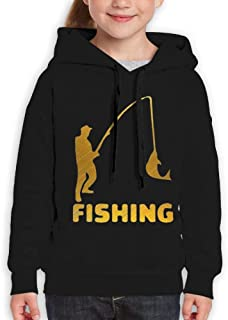 MUPTQWIU Teen This is My Boomstick Funny Sports Black Sweater