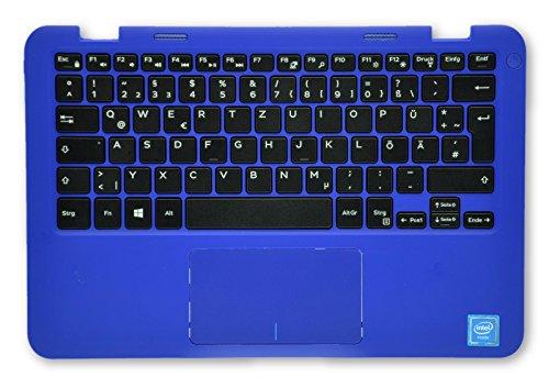 Blaue Handballenauflage Dell Inspiron 11 3000 Series 3162 mit Deutscher QWERTZ Tastatur MHDKY 59N69