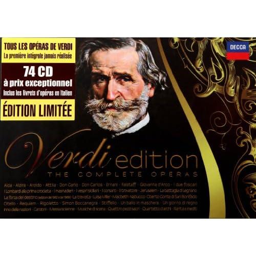 Verdi Edition-Complete Operas (74cd)