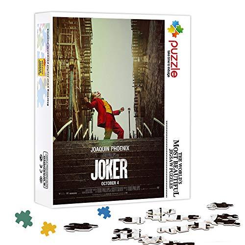 KKASD Puzzle da 1000 Pezzi Gioco Joker Puzzle in Legno Giochi mentali, Giochi di decompressione, Giochi di Puzzle di Decorazione familiare 75x50cm