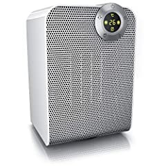 Brandson - verwarming ventilator - keramische kachel ventilator badkamer energiebesparende stilte - kachel snel kachel met oscillatie - 2x verwarming stappen - verwarming kachel - GS gecertificeerd - badkamer slaapkamer terras *