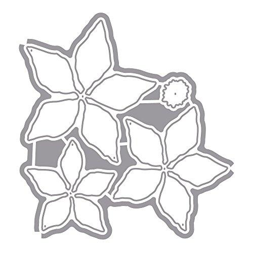 Rayher 59715000 set fustelle stella di Natale ca 4 pezzi in acciaio inossidabile per decori della casa e natalizi