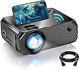 Proiettore Portatile, 6500 Lumen Supporto 1080P, 300 'Grande Schermo, Mini Proiettore WiFi, per PS4, X-Box, Iphone, Android