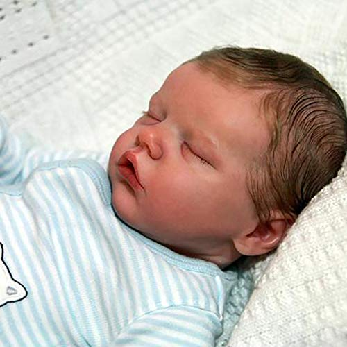 HFSKJWI Lifelike Reborn Baby Dolls Realistic Baby Dolls 20.5 Inch Real Baby Dolls That Look Real for Kids Age 3+