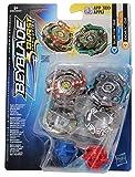 Beyblade Hasbro Burst Let it Rip! Spinning Top Set de 2 Paquetes Dobles, para niños, niños y niñas (Subtr S2 y Odax O2 )