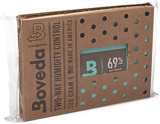 Boveda pour cigares/tabac | régulateur d'humidité dans les 2 sens à 69% d'HR | taille 320 pour max. 100 cigares | technolo...