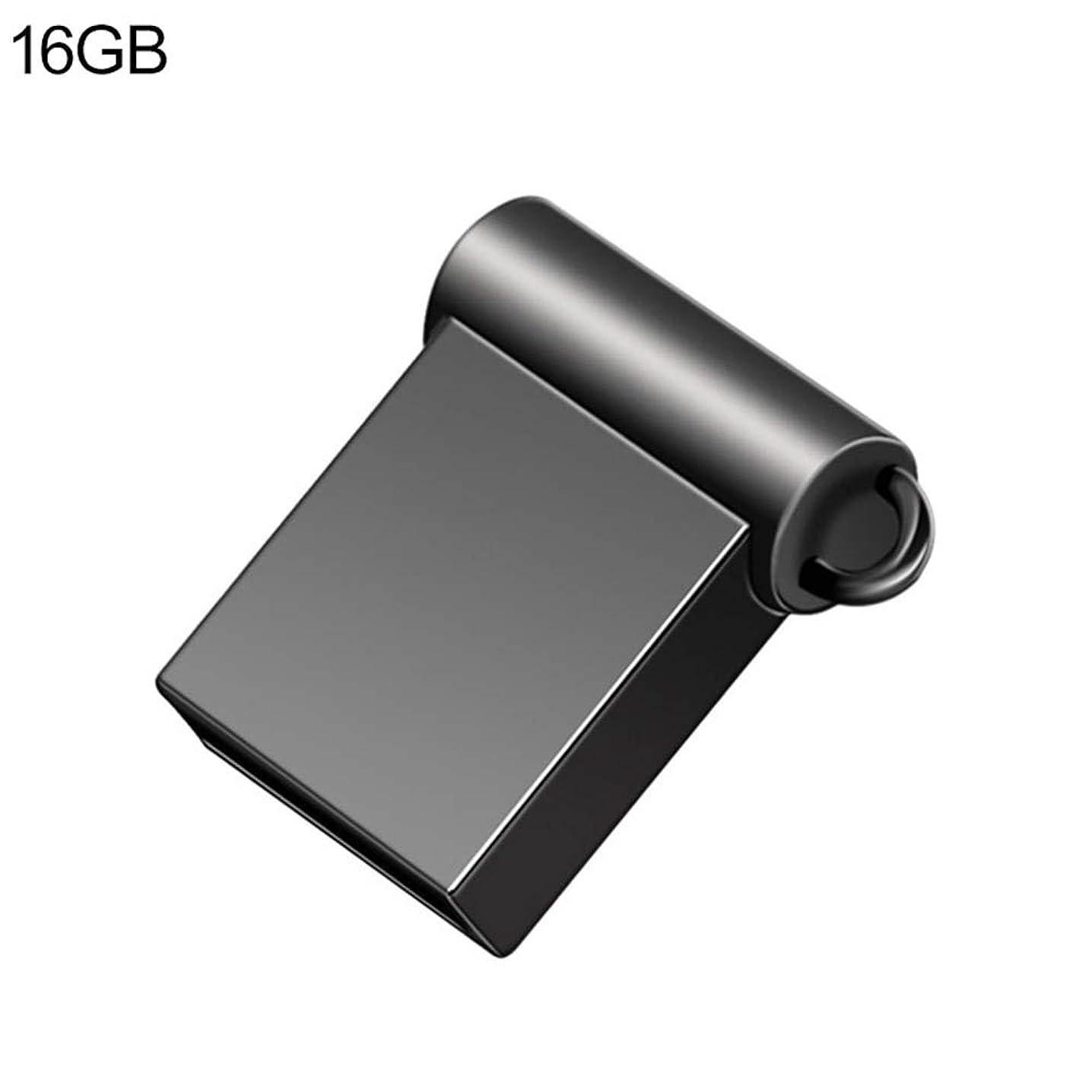 Computer Accessories, 4/8/16/32/64GB Metal Mini USB 2.0 U Disk Flash Drive Data Storage Memory Stick - Black 16GB
