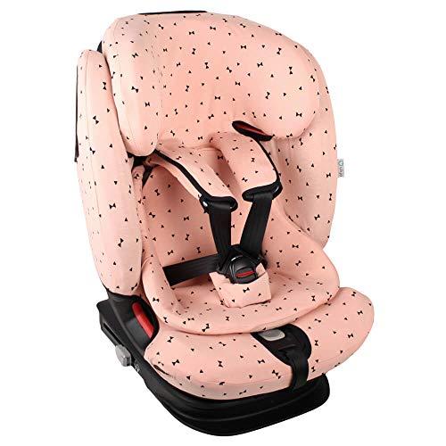Fundas Para Sillas de Algodón Oeko-Tex para Silla de Coche Maxi Cosi Titan Pro Funda Silla Garantiza la Comodidad de la Piel del Bebé y Ayuda a no Sudar Pequeños Puntos Negros