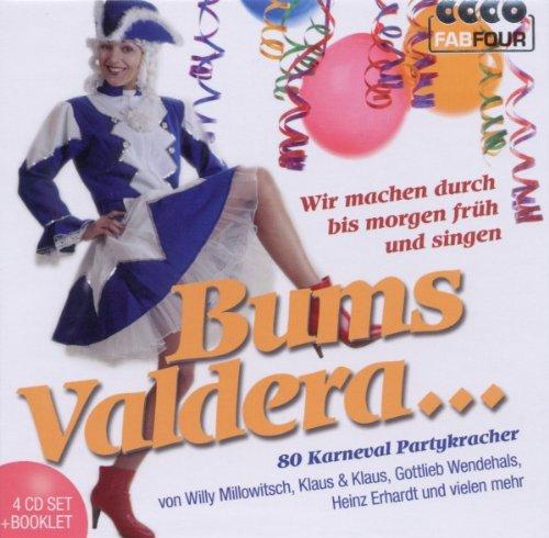 Bums Valdera - 80 Karneval Partykracher