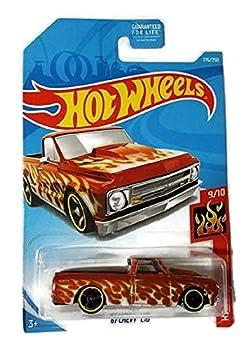 Hot Wheels  67 Chevy C10 HW Flames 9/10