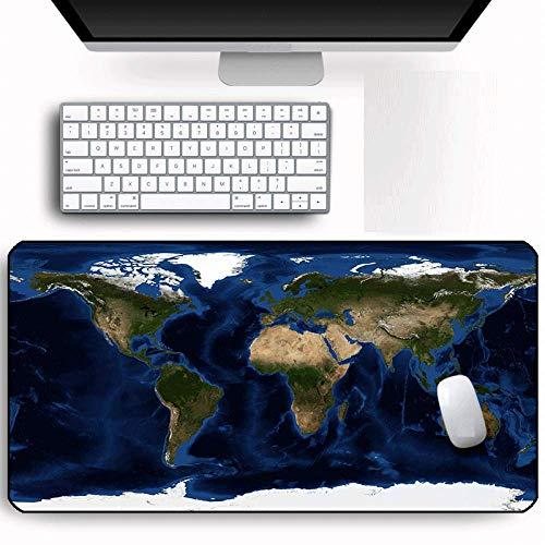 Großes Mauspad Pc Computerspiel Tastatur Maus Maus Großes Tischpad Gummi Big Lock Rand Waschbare Karte Mauspad 1200X600X4Mm