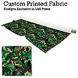 Camouflage Frau Design Digital Print Strick Jersey