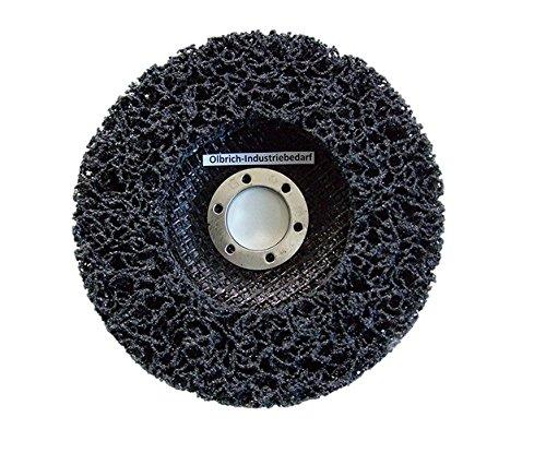 Olbrich-Industriebedarf Reinigungsscheibe 125 mm - 5 Stück SCHWARZ