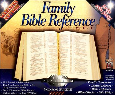 Family Bible Reference Set: The Platinum Set