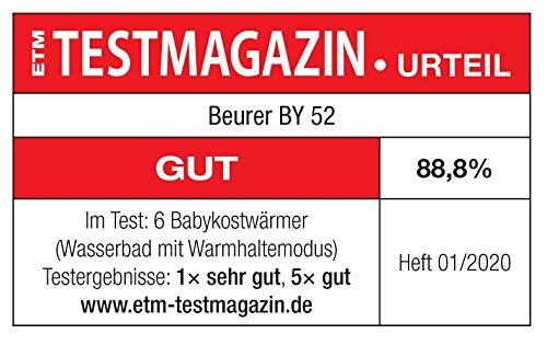 Beurer BY 52 Babykost- und Fläschchenwärmer - 8