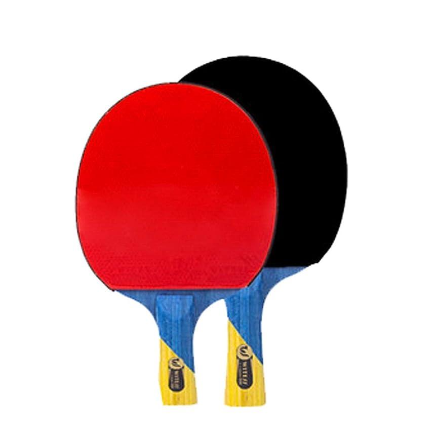 組み込むアシスト意図する卓球ラケット、アウトドアスポーツやフィットネスラケット、トレーニングラケット、ロングハンドル2パック(3ボール+バッグを与える)に適して