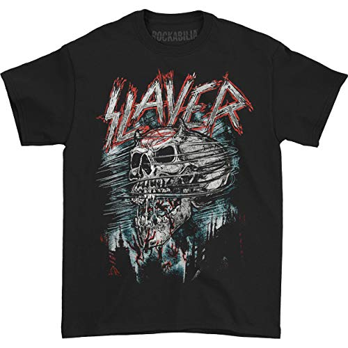 Loudclothing Herren T-Shirt Slayer Demon Storm, Gr. Large, schwarz