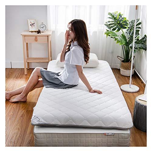 Studenten Wohnheim opvouwbare matras Japanse futon matras topper, gebreid verdikt ademend tatami-matras dubbelzijdig, Single Double bed matras 90x190cm(35x75