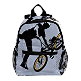 Mochila 3-8 Años Bicicleta de montaña Mochila Ligera para Niños Pequeños para Preescolar...
