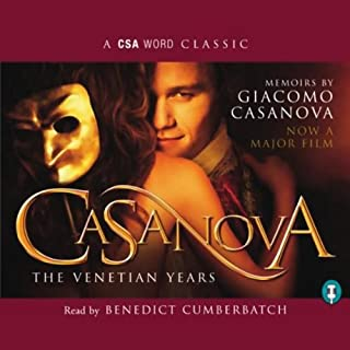 Casanova audiobook cover art