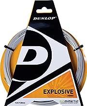 Dunlop Explosive Tennis String Set, Silver