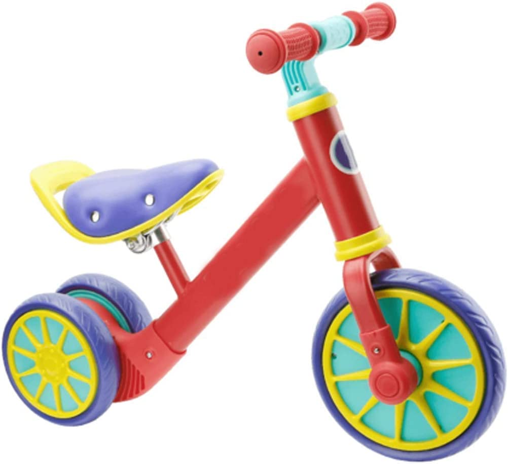 BAIYAN Triciclo Triciclo Triciclo presentarse Bicicleta Balance de bebé, con asa para niños Bicicleta Bicicleta Scooter Walker niño Bicicleta Bicicleta 1-3-6 años