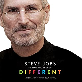 Steve Jobs: The Man Who Thought Different cover art