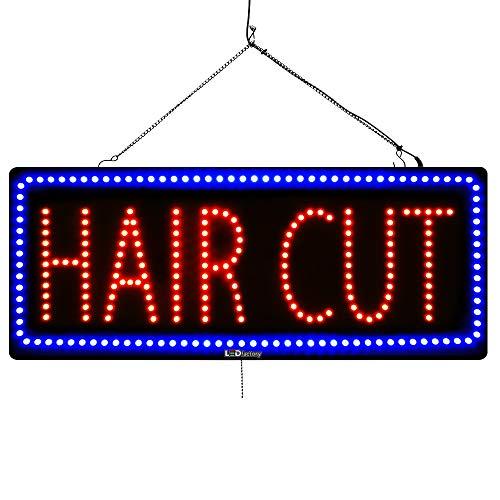 LED Window Salon Sign
