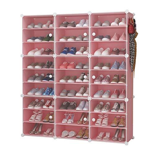 Bota de almacenamiento de zapatos para zapatos Gabinete modular para ahorrar espacio, perchero de zapatos ideal para zapatos, botas, zapatillas de zapatos portátil de almacenamiento de zapatos Torre p