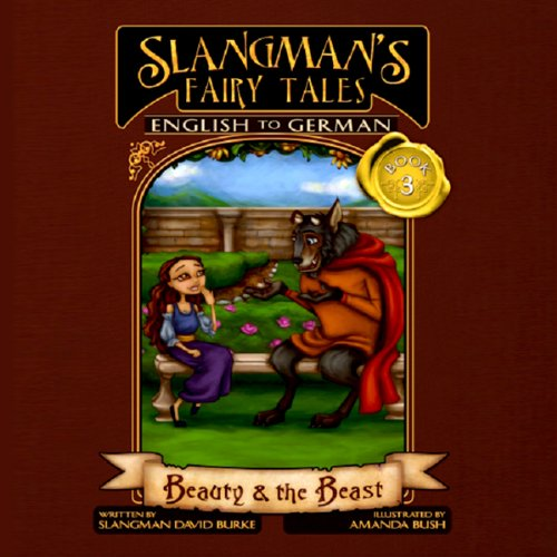 Slangman's Fairy Tales: English to German audiobook cover art