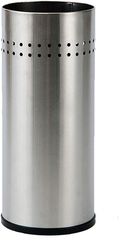 Achang Umbrella Stand Stainless Steel Entrance Hallway Storage Umbrella Bucket Waterproof Not Rust 8.5x19.6in