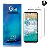 SONWO Pellicola Protettiva per Samsung Galaxy A50 Imballaggio al dettaglio comprende: Confezione da 2 * pellicola protettiva in vetro temperato, salviettine umidificate, panno di pulizia, adesivo per la rimozione della polvere blu istruzioni Antigraf...