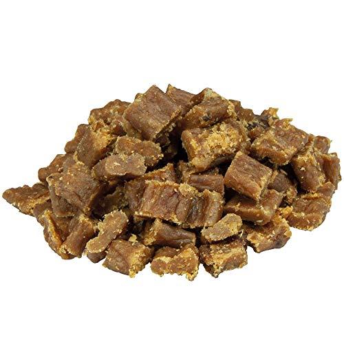 Schecker Knubbies 100% Truthahn 5 x 200g - Singleprotein - Weiche Leckerli aus 100% Fleisch - fürs Hundetraining oder als Bolohnung