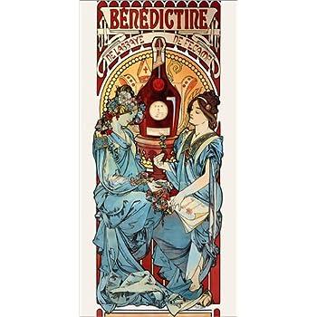 Poster 20 x 40 cm Reproduction Haut de Gamme Medee de Alfons Mucha Nouveau Poster