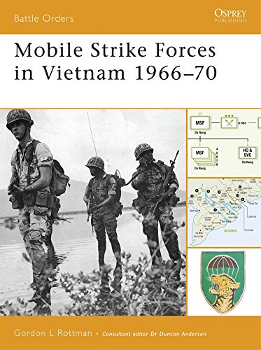 Mobile Strike Forces in Vietnam 1966-70 (Battle Orders)