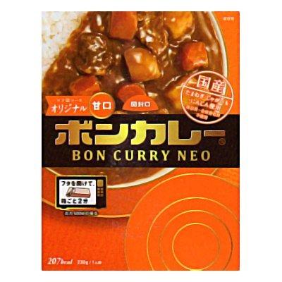 大塚食品 ボンカレーネオ コク深ソースオリジナル 甘口 230g 5コ入り