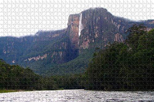 Rompecabezas para adultos Venezuela Angel Falls Venezuela Rompecabezas de 1000 piezas para adultos
