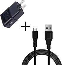 (Taelectric) Wall AC Home Charger+3ft USB Cord Cable for TracFone/Total/Net10 LG 237C LG237c