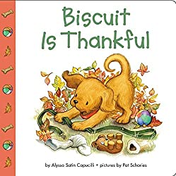 Biscuit is Thankful - Books that teach children to be thankful: Thankful Jar: A Chalk Talk Vlog YouTube Hop Clever Classroom blog