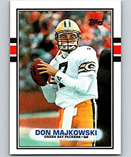 1989 Topps Football #373 Don Majkowski RC Rookie Card Green Bay Packers Official NFL Trading Card