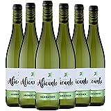 Puerto Alicante Aromático Vino Blanco D.O. Alicante 6 Botellas - 750 ml