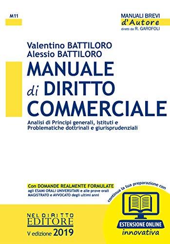 Manuale di diritto commerciale. Con espansione online