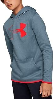 Under Armour Boys' Armour Fleece Branded Hoodie